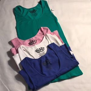 Tops - Set of Four Tank Tops